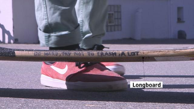 Laschar ir video «Longboarder Joel Santos: «Per mai è quai libertad»»