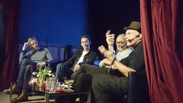 Da sanestrer: Jon Erni, Nicola Roner, Not Carl e Not Vital.
