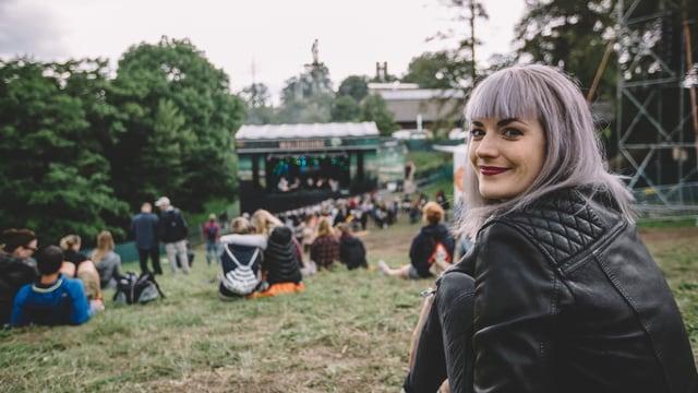 Tina Nägeli am Gurtenfetival 2016.