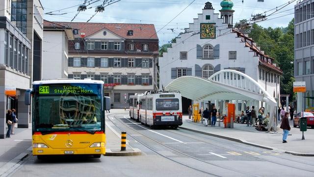 St. Galler Marktplatz