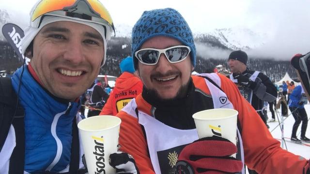 Andreas Wieland (RTR) e Serafin Beer