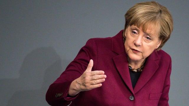 Angela Merkel, chanceliera tudestga