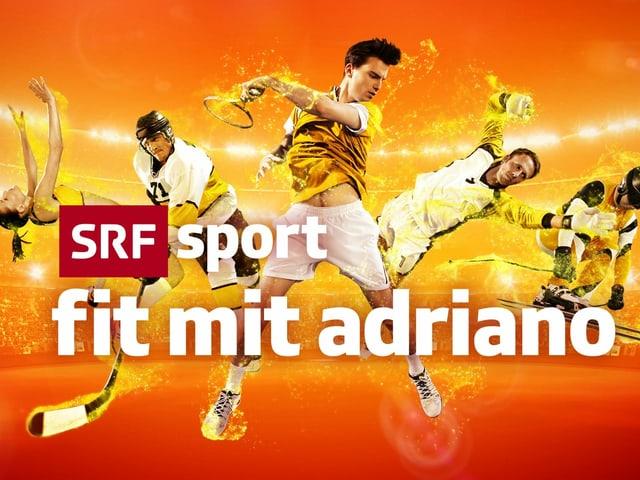 Logo «Fit mit Adriano».