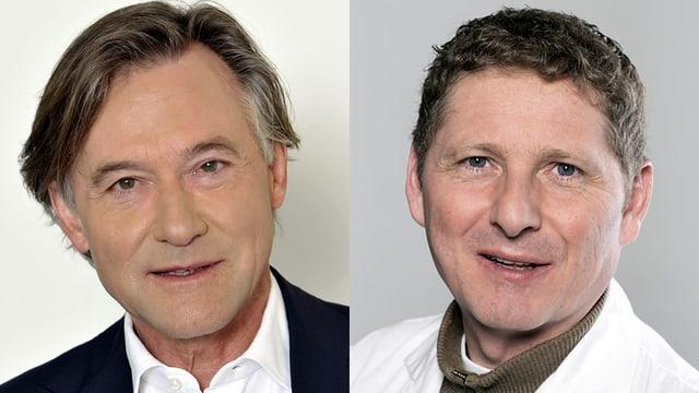 Prof. Thierry Ettlin und Dr. Udo Hartl
