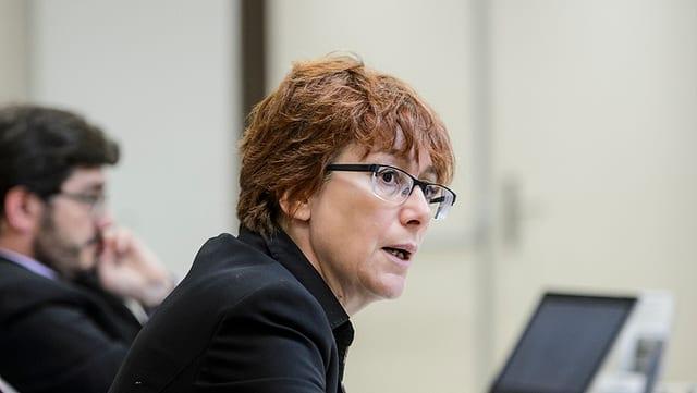 La presidenta da la PPS Vad, Fabienne Despot.
