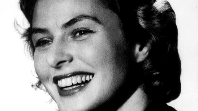 Porträt Ingrid Bergman