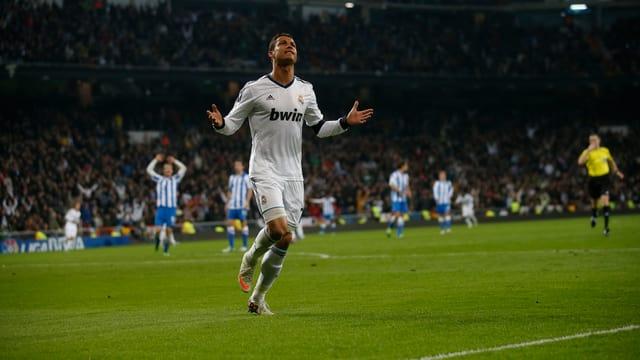 Cristiano Ronaldo hatte allen Grund zu jubeln.