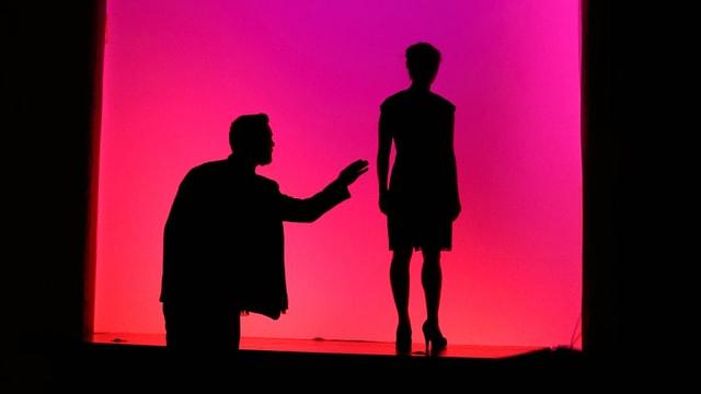 Szene aus Gespenstersonate in der Staatsoper im Schillertheater Berlin, Juni 2017.
