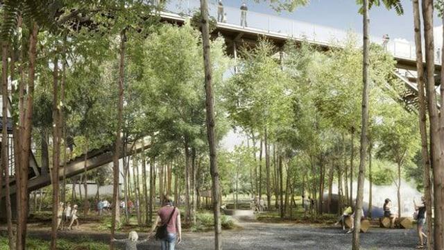 Die «Wunderbrücke» soll das Technorama auch bei schönem Wetter zu einem beliebten Ausflugsziel machen.