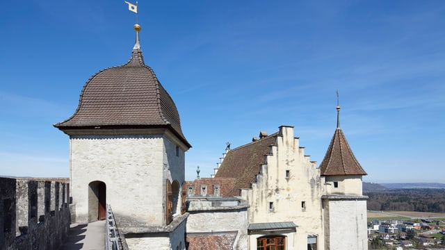 Bastion des Schloss Lenzburg
