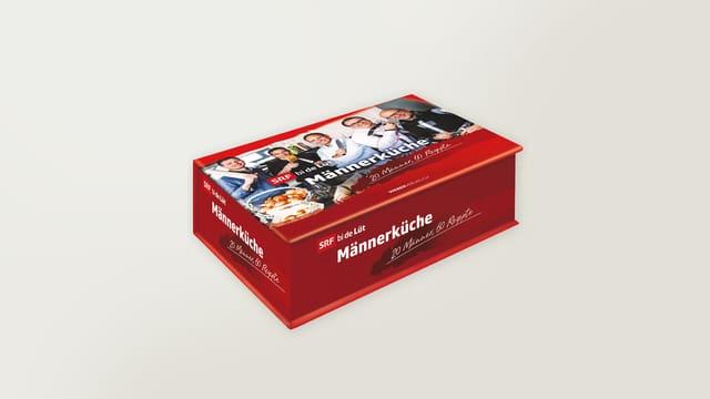 Männerküche - Postkartenbox mit 100 Postkarten