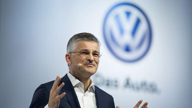 Il responsabel da VW en ils Stadis Unids Michel Horn.