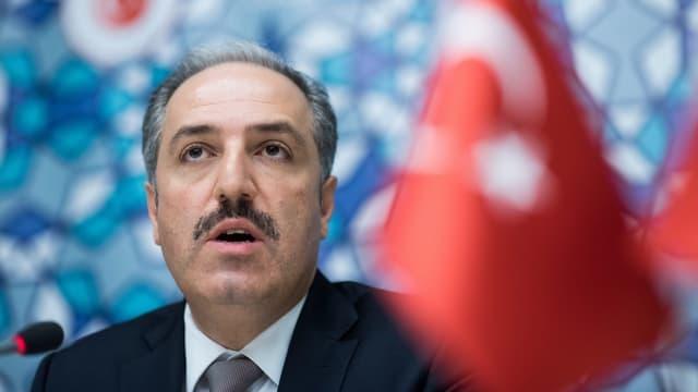 Mustafa Yeneroglu ist und Vorsitzender des Menschenrechtsausschusses des türkischen Parlaments.