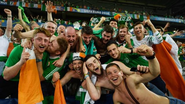 Irische Fans