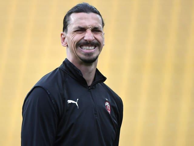 Zlatan Ibrahimovic beisst die Zähne zusammen