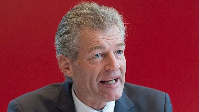 Il president da Economiesuisse Heinz Karrer.