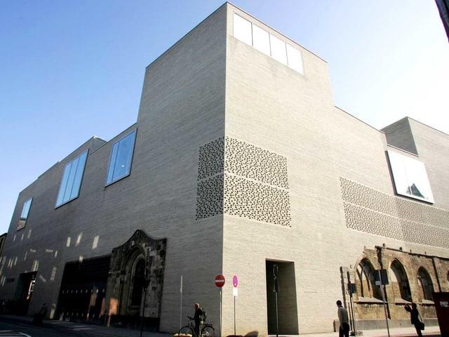 Ein Bauwerk von Peter Zumthor: das Kunstmuseum Kolumba des Erzbistums Köln.