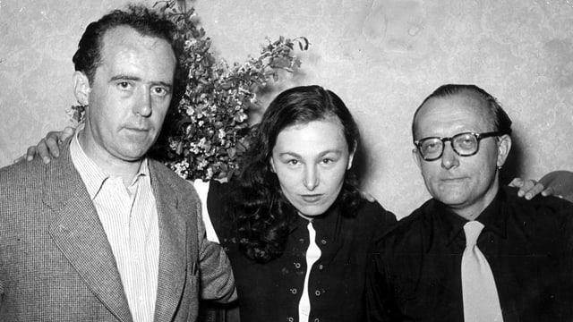 Heinrich Böll, Ilse Aichinger und Günter Eich
