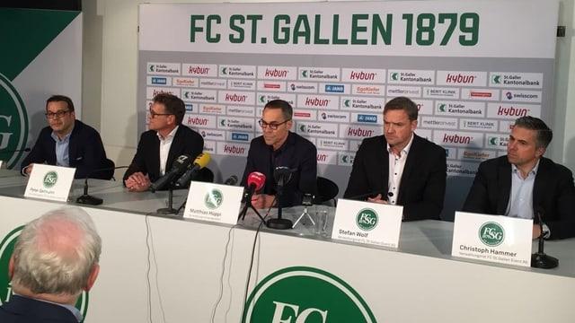 VR des FC St. Gallen