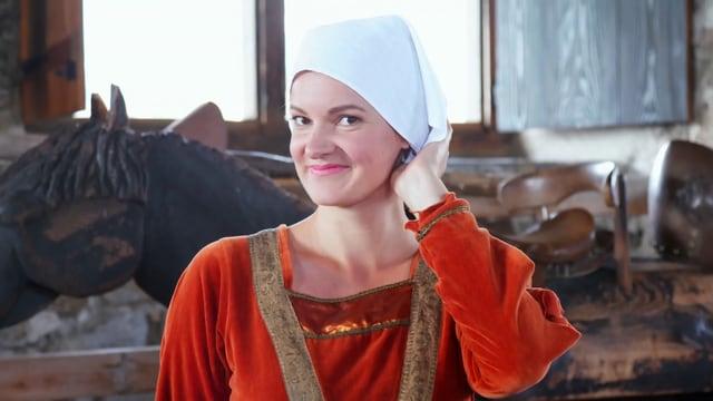 Video «Mittelalter in der Schweiz: Rollenbilder auf Schloss Spiez (3/5)» abspielen