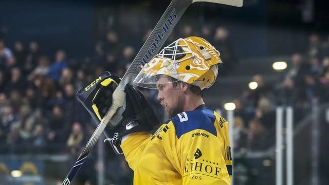 Il goli dal HCD Andreas Lindbäck