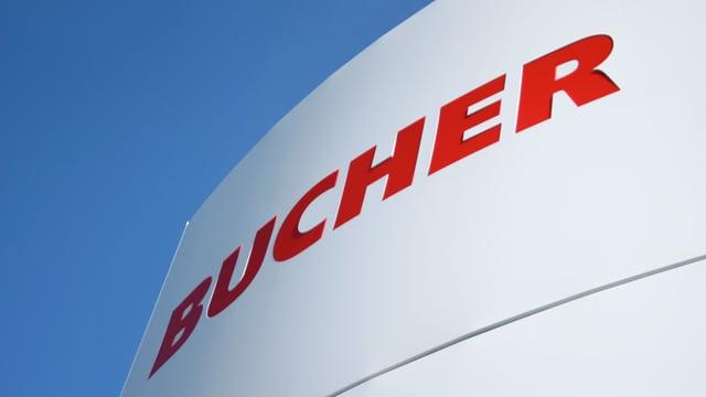 Firmenlogo des Maschinenbauers Bucher Industries.