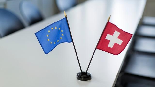 La nova persuna da contact tar l'Uniun europeica n'ha anc betg giu da far bler cun la Svizra.
