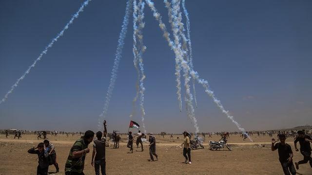 Protest al cunfin dal Gaza.