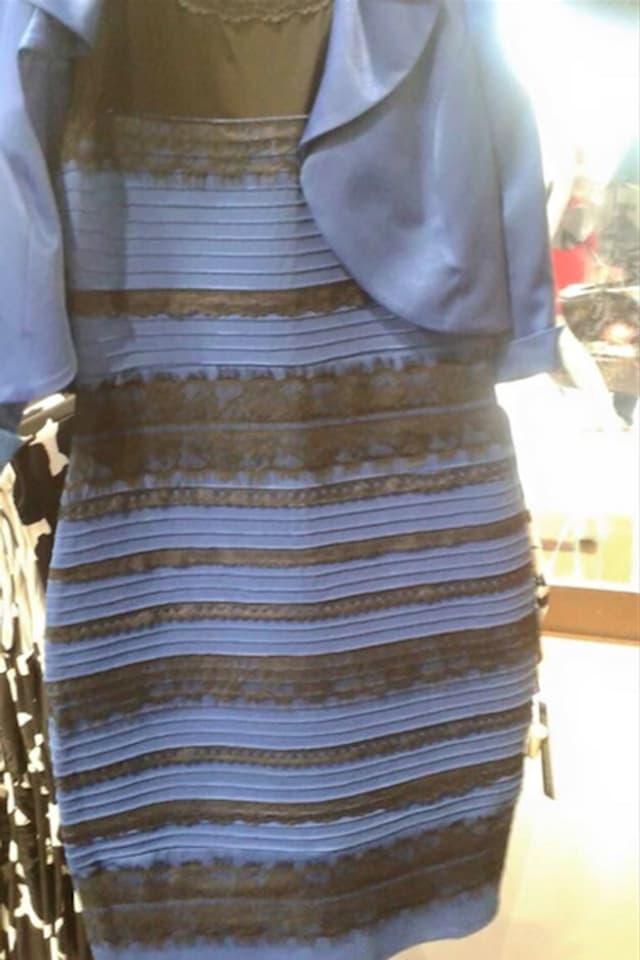 Das Kleid, das ganze Büros entzweit. Und was sehen Sie so?