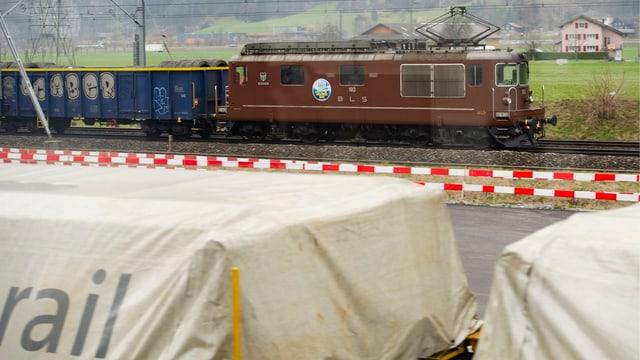 Güterzug BLS