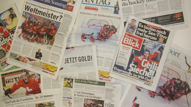 Die Schweizer Presse zeigt sich nach dem Final-Einzug der Schweizer Nati euphorisch.