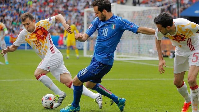 L'Italia ha battì la Spagna il defensur dal titel.