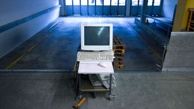 Garascha vida cun in computer.