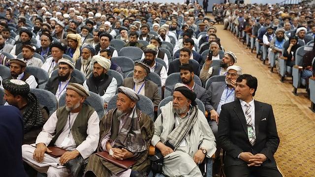 Delegierte an der «Loja Dschirga»