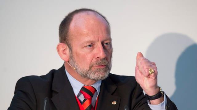 Il president da la Federaziun svizra dal turissem Dominique de Buman