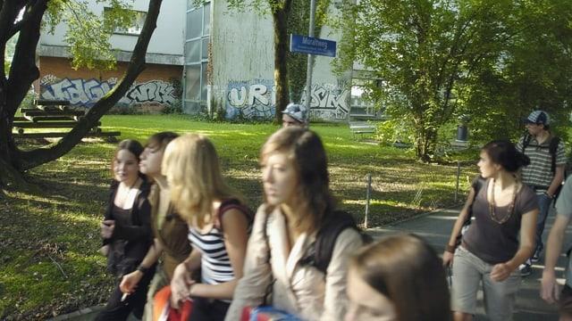 Vandalismus in der schule