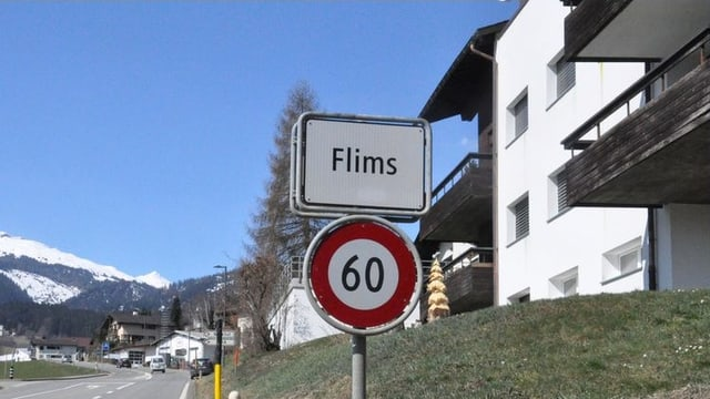 Dorfeingang Flims