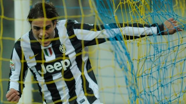 Matri drehte die Partie mit zwei Toren für Juventus.