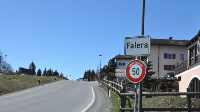 Entrada da Falera.