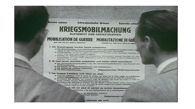 La Mobilisaziun generala ils 2-9-1939