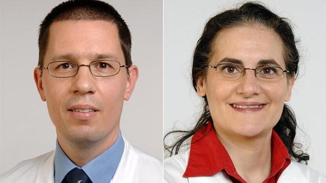 Dr. Mace Schuurmans und PD Dr. Isabella Sudano