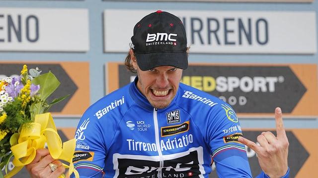 Daniel Oss und seine BMC-Equipe waren im Kampf gegen die Uhr die Schnellsten.