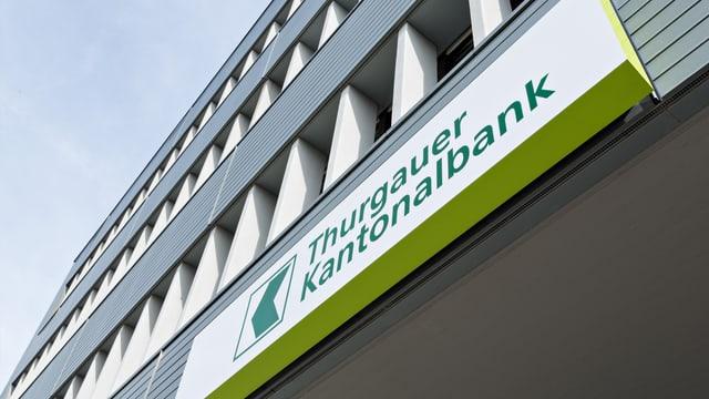 Thurgauer Kantonalbank von aussen.