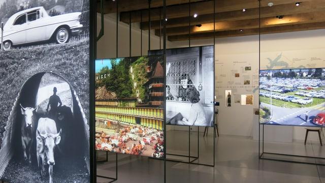Blick in die neue Dauerausstellung zur Nidwaldner Geschichte im Salzmagazin Stans.
