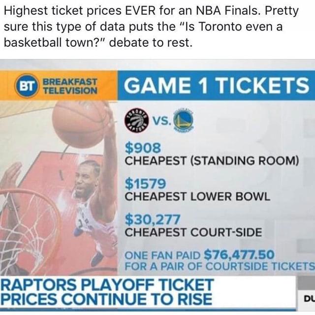 Die günstigsten Tickets werden bei Ticketmaster für rund 1000 Dollar angeboten.