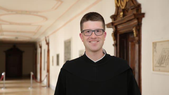 Porträt von Pater Philipp Steiner.