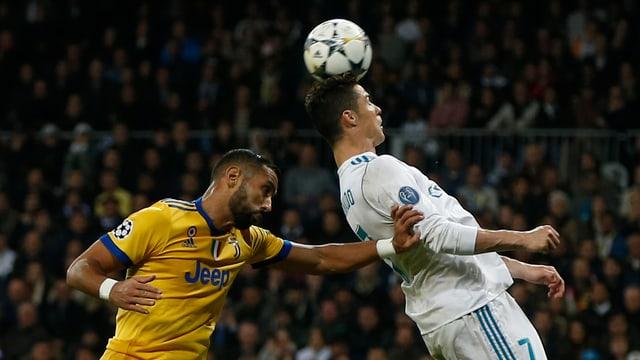 Cristiano Ronaldo en acziun.