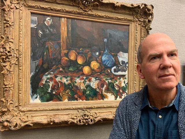 Markus Stegmann, Direktor des Museums Langmatt.