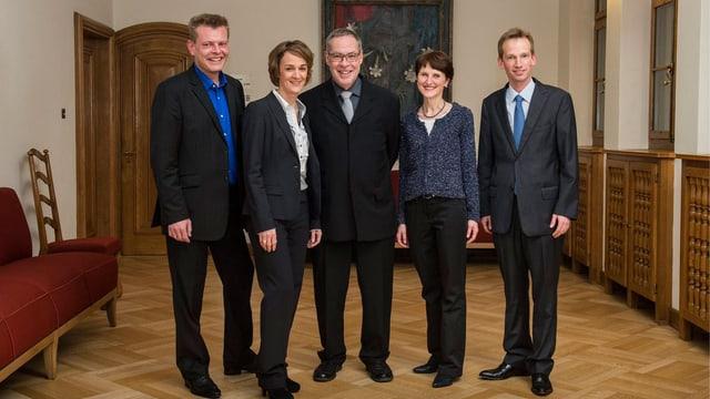 Der Berner Gemeinderat nach der Wahl im November 2012