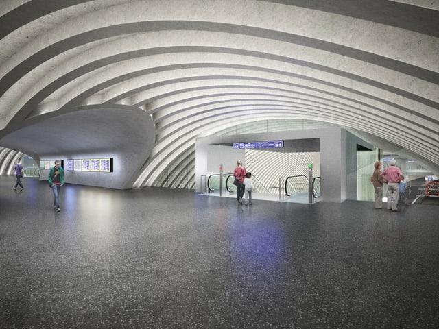 Projektbild RBS-Bahnhof.